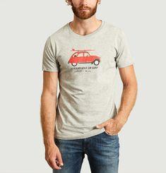 T-Shirt Surf Deuch en Coton Biologique