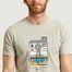 matière T-shirt Pola - Kulte