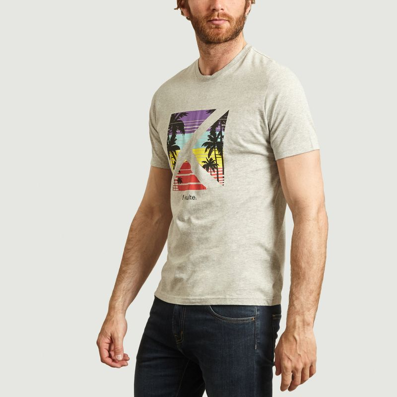 T-shirt Logobox Sun - Kulte