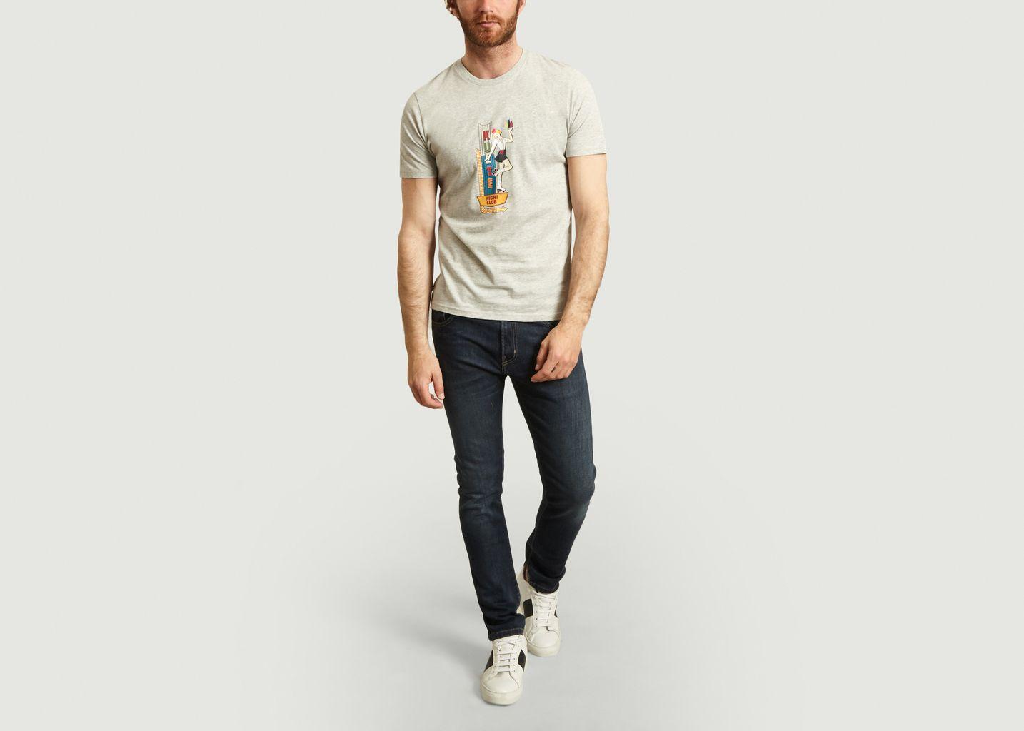 T-shirt Night Klub - Kulte