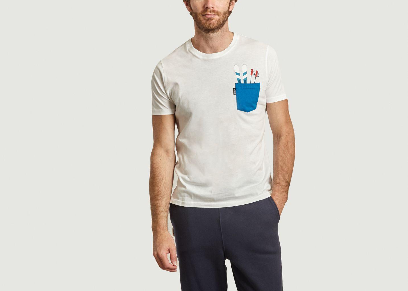 T-shirt collection ski - Kulte