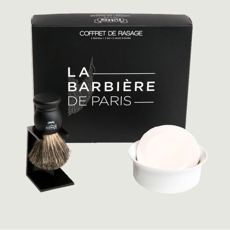 Coffret de Rasage x Maison Plisson - La Barbière de Paris