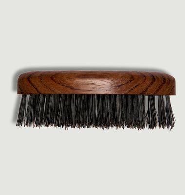 Navette Wooden Beard Brush