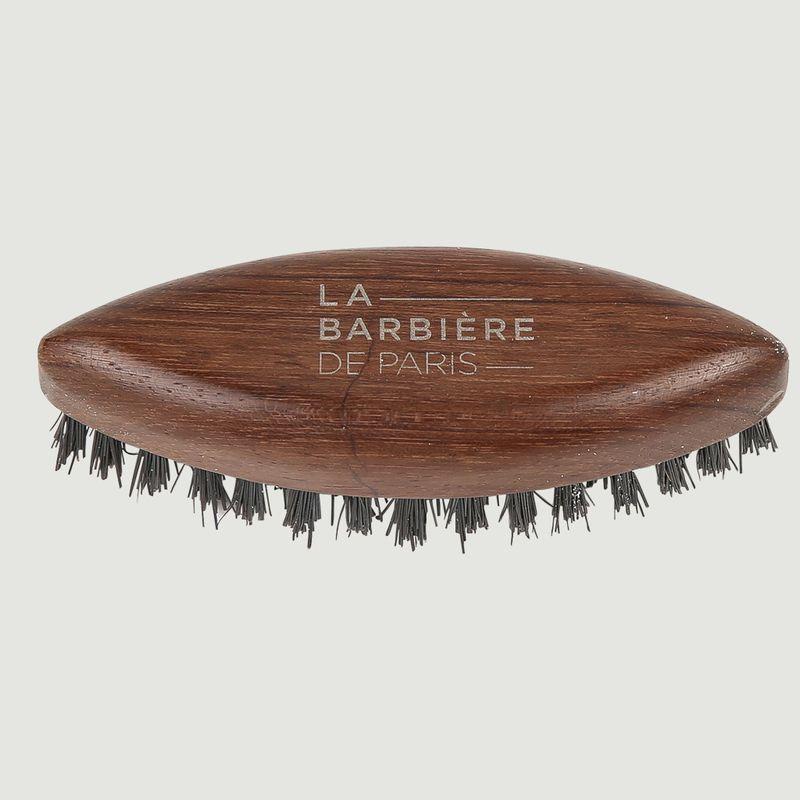 Brosse Navette à Barbe en Bois - La Barbière de Paris