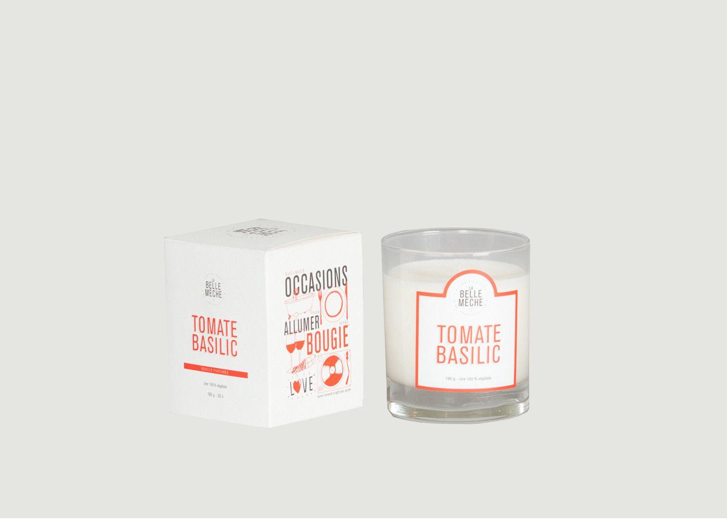 Bougie Tomate Basilic - La Belle Mèche