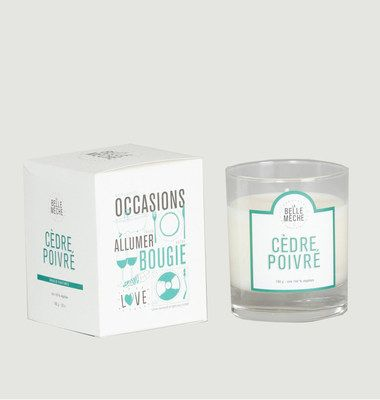 Cedarwood Scented Candle