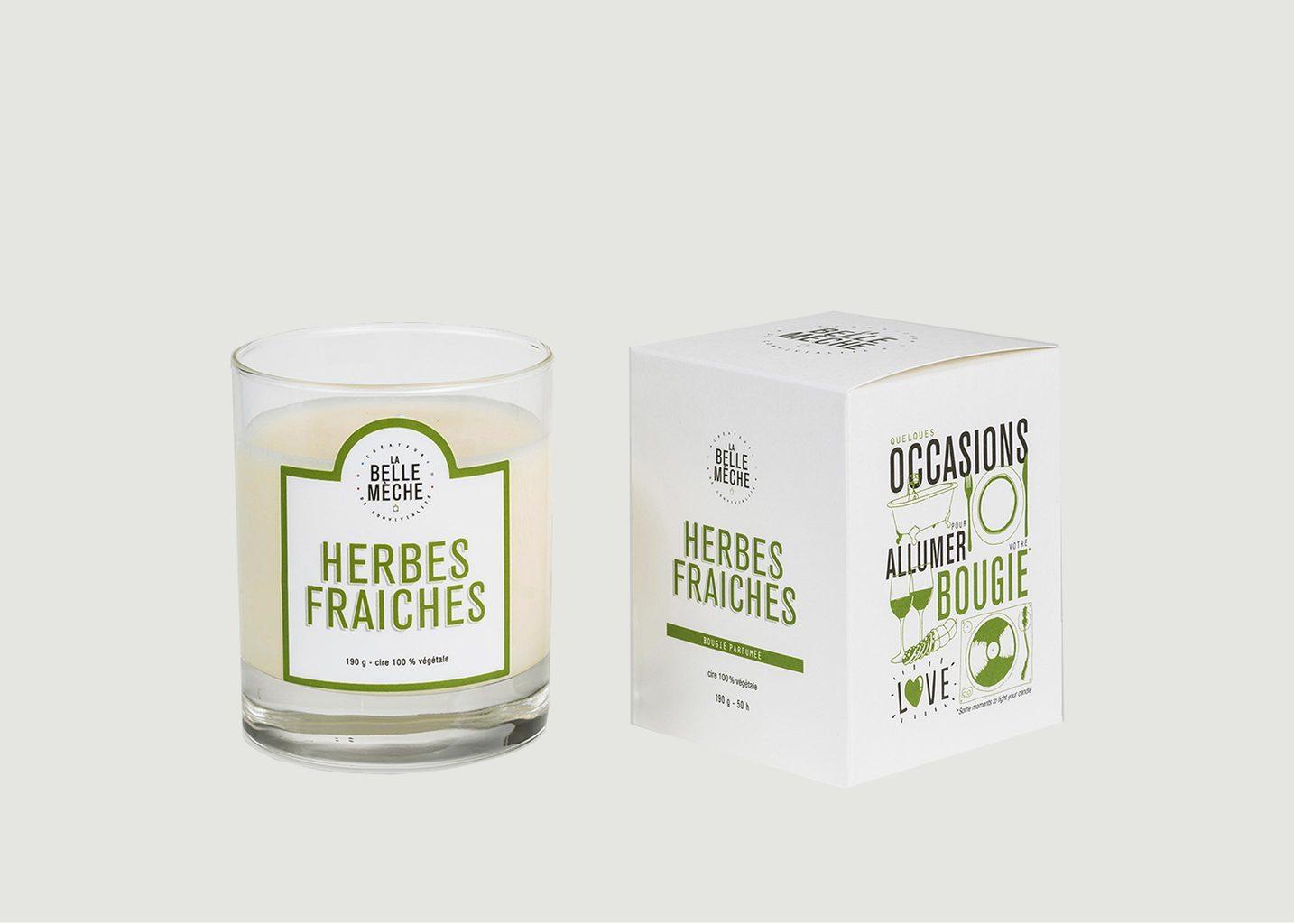 Bougie Herbes Fraiches - La Belle Mèche