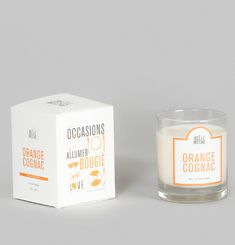 Orange Cognac Scented Candle