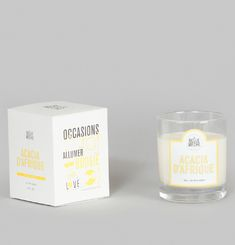 African Acacia Scented Candle
