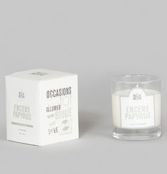 Incense Papyrus Scented Candle