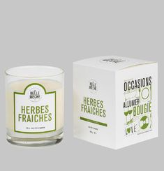 Fresh Herb Candle