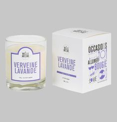 Verbena Lavender Scented Candle