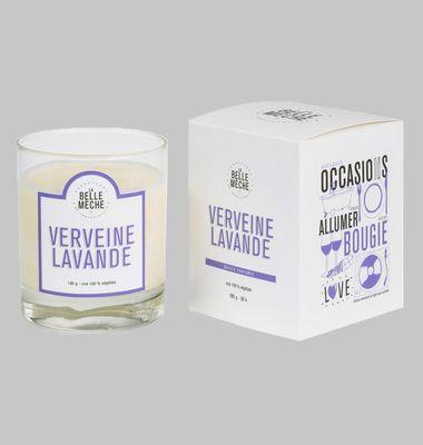 Verbena Lavender Scented Candle
