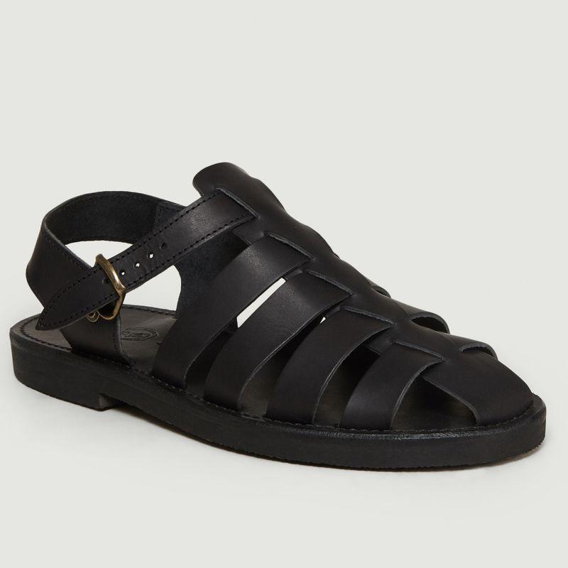 Sandales Jérôme Full Black - La Botte Gardiane