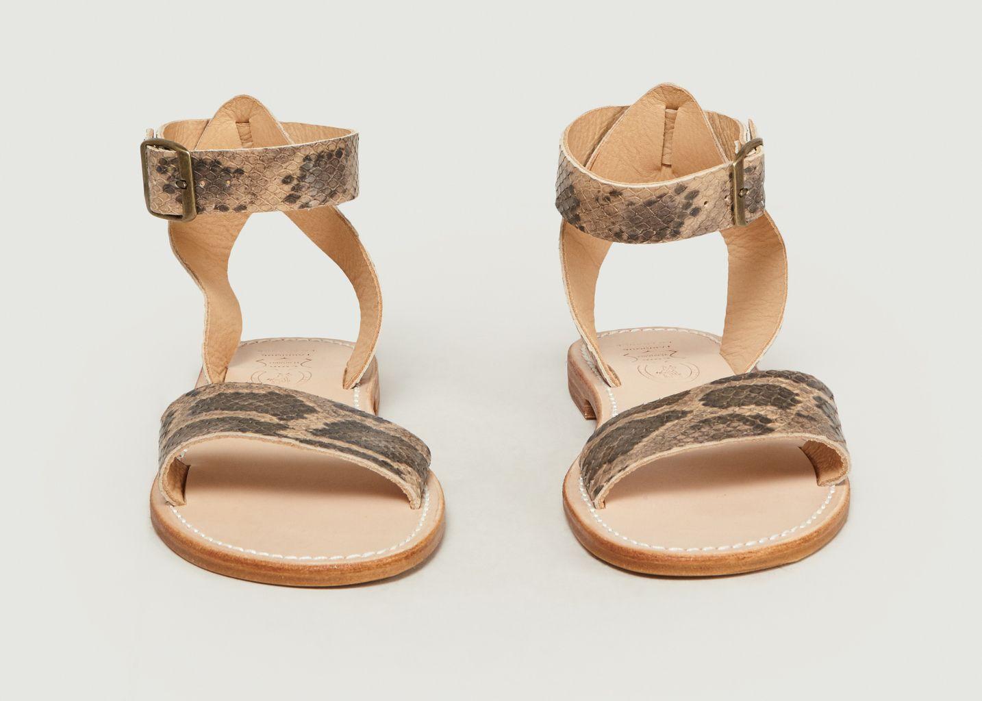 Sandales Mage Python - La Botte Gardiane