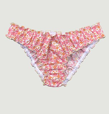 Flowery panties