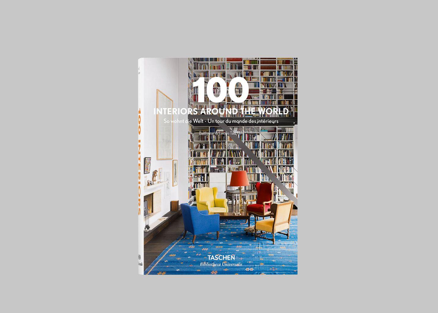 100 Interiors Around The World - La Librairie