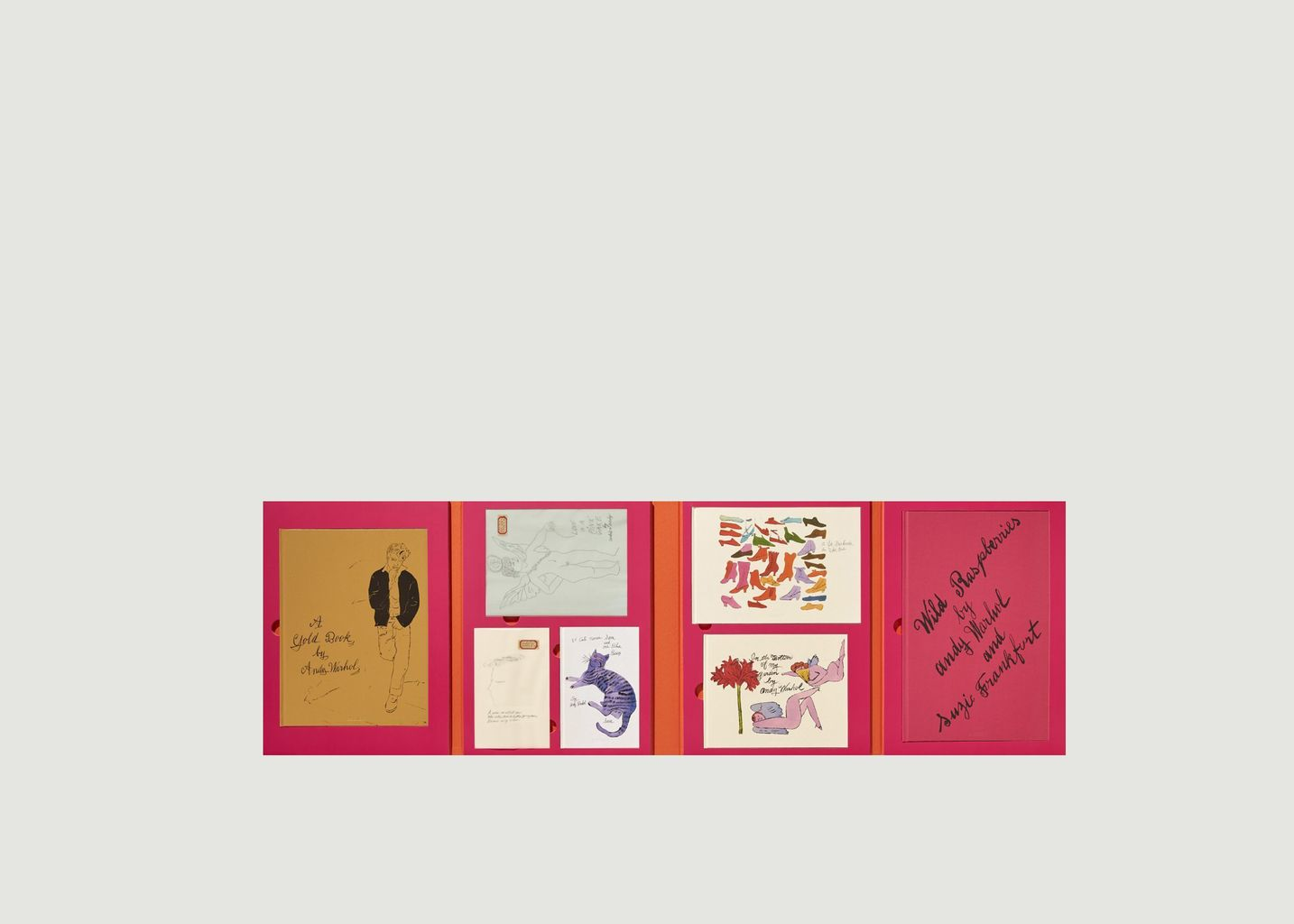 Andy Warhol. Seven Illustrated Books 1952-1959 - La Librairie