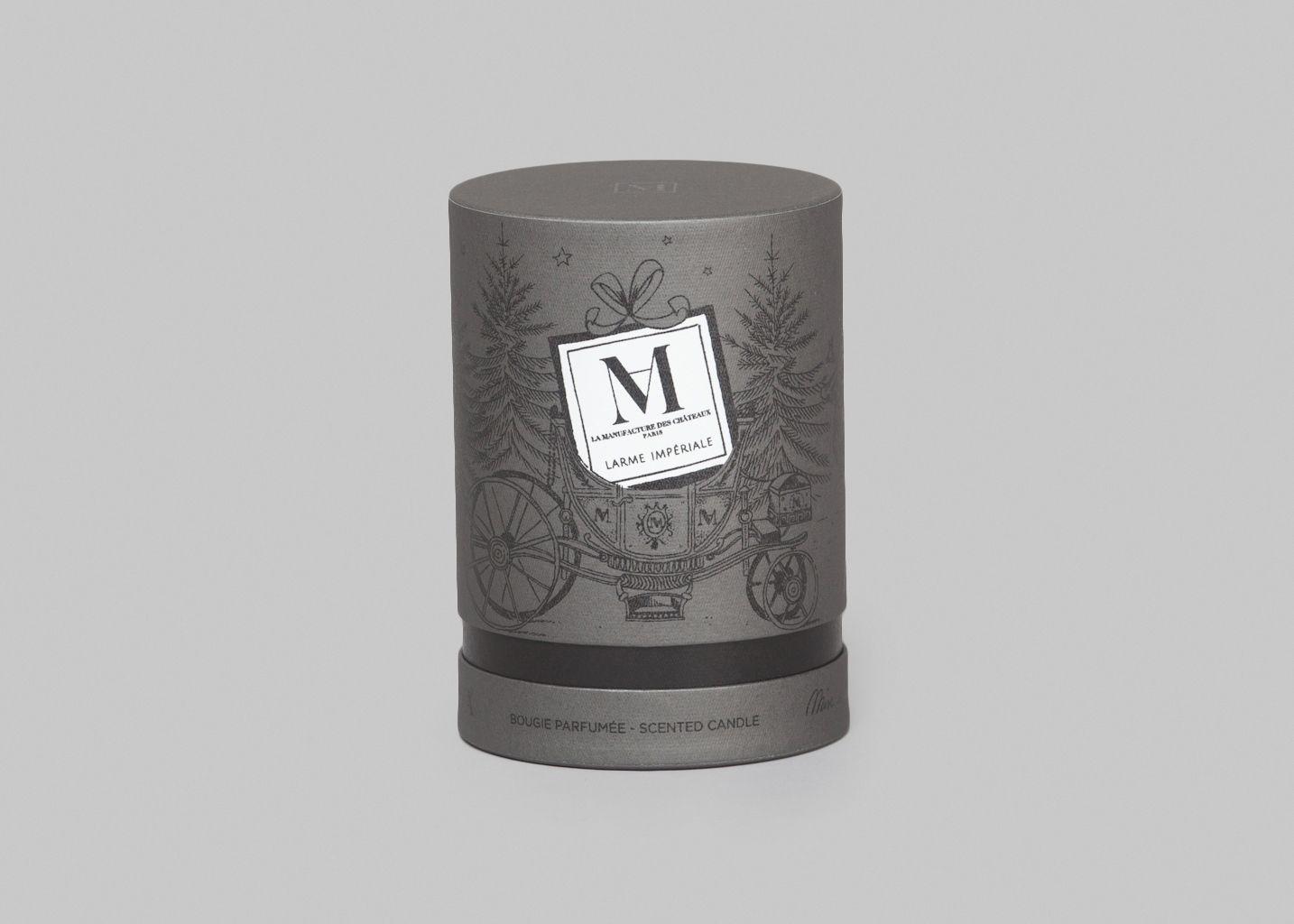 Bougie Larme Impériale - Noel Au Chateau - La Manufacture Parfums
