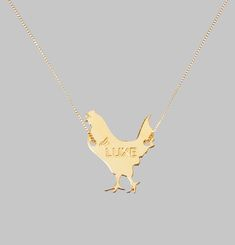 Royal Hen Necklace