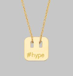 #Hype Necklace