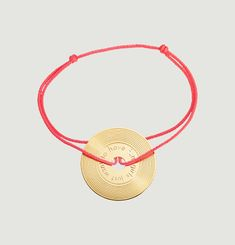 Bracelet Cordon Vinyle Girls Just Want To Have Fun