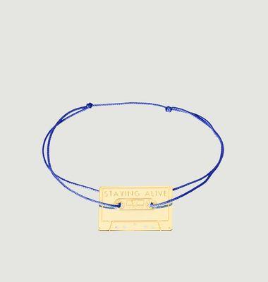 Bracelet Cassette Staying alive