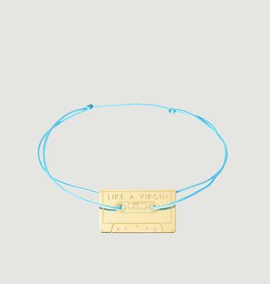Bracelet Cordon Cassette Like A Virgin
