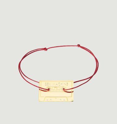Bracelet Cordon Cassette Sex Machine