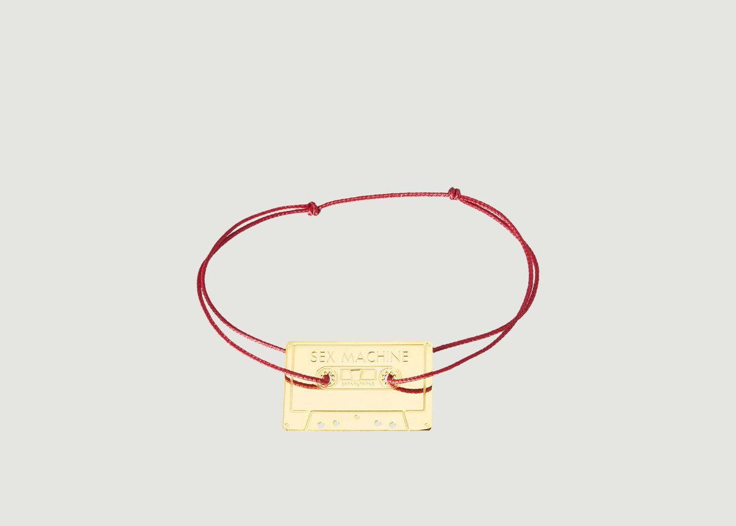 Bracelet Cordon Cassette Sex Machine - La Môme Bijou