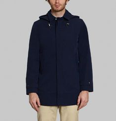 Parka Mac Capuche Tech
