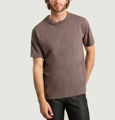 T-shirt Coton Émerisé