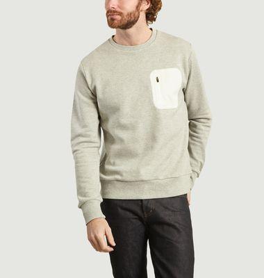 Sweatshirt en coton