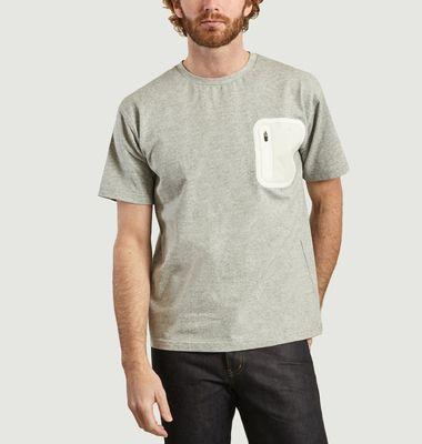 T-shirt détail poche