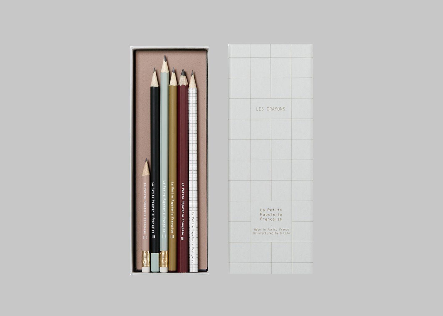 Les Crayons - La Petite Papeterie Française