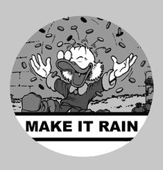 Make It Rain Stamp