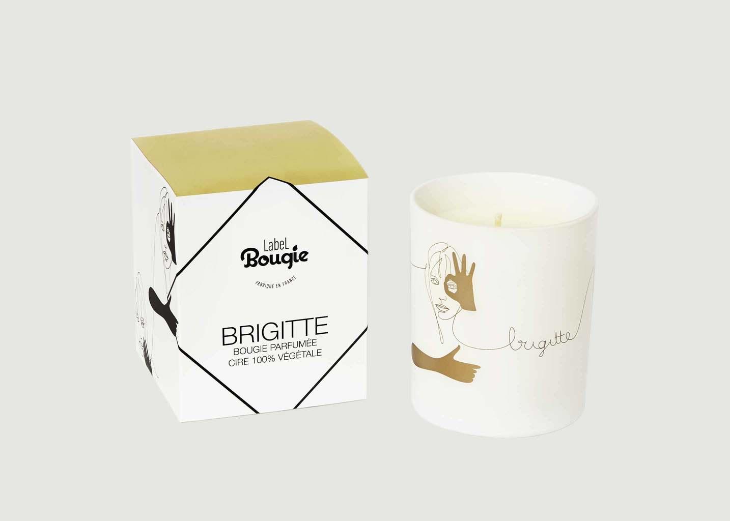 Bougie Les Amusées Brigitte 180gr - Label Bougie