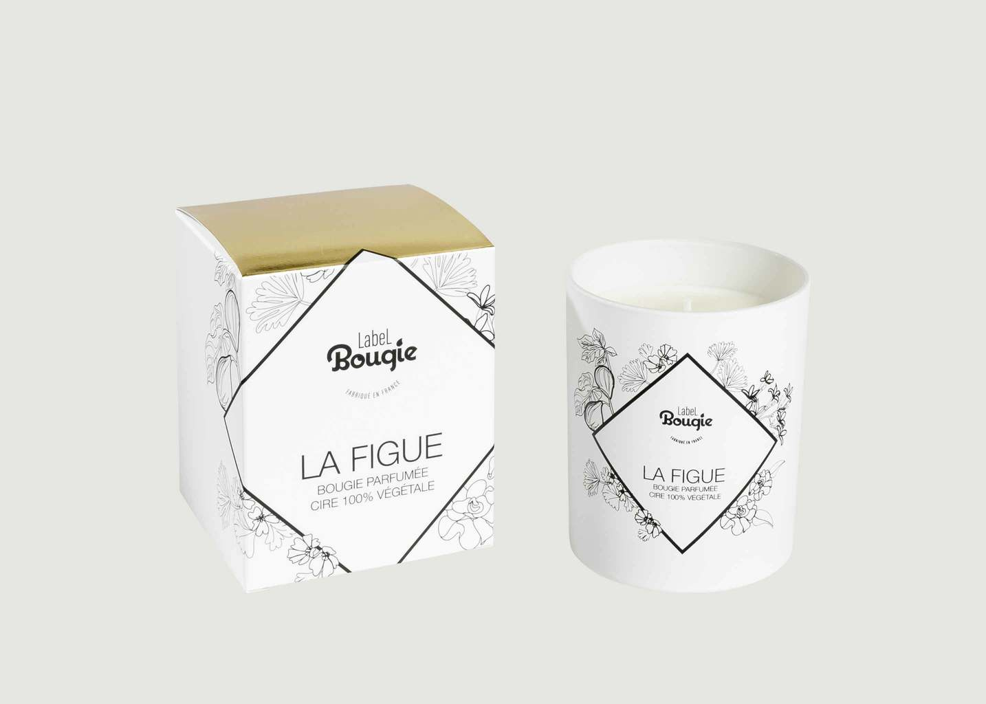Bougie La Figue 180g - Label Bougie