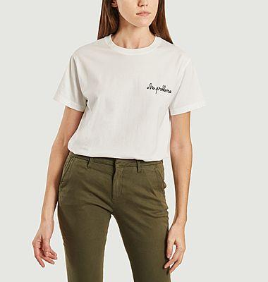 T-shirt Brodé No Problemo