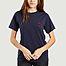 T-shirt brodé signe coeur - Maison Labiche