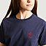 matière T-shirt brodé signe coeur - Maison Labiche