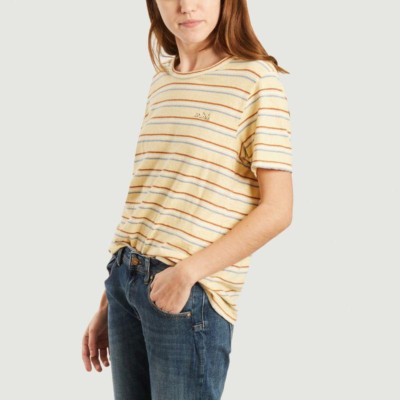 T-shirt à rayures Artiste - Maison Labiche