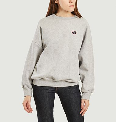Sweatshirt Patch Coeur