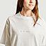 matière Robe t-shirt en coton bio brodée Overdressed Chalon - Maison Labiche