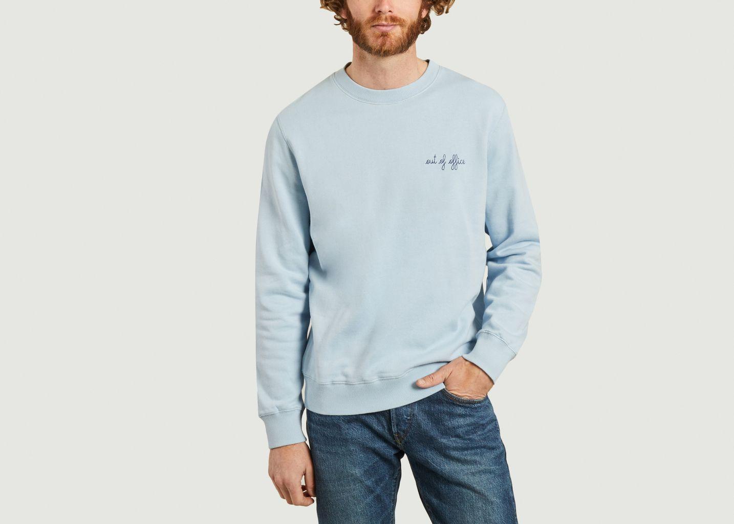 Sweatshirt Out of Office - Maison Labiche