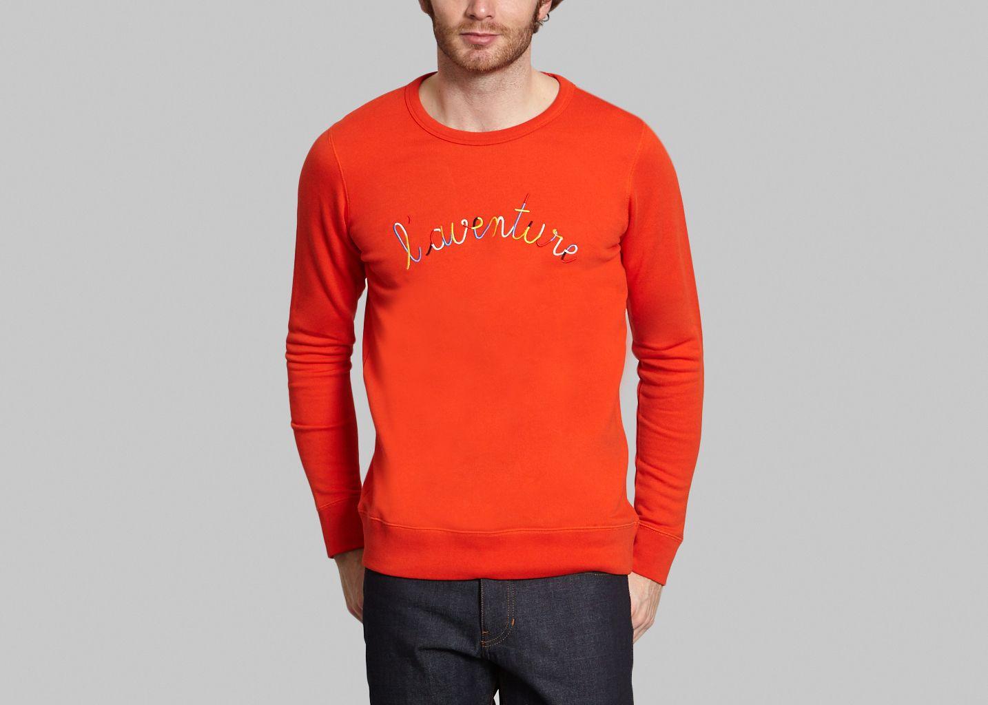 Rouge L'aventure Labiche Sweat Shirt Maison L'exception nUHZgYqwE