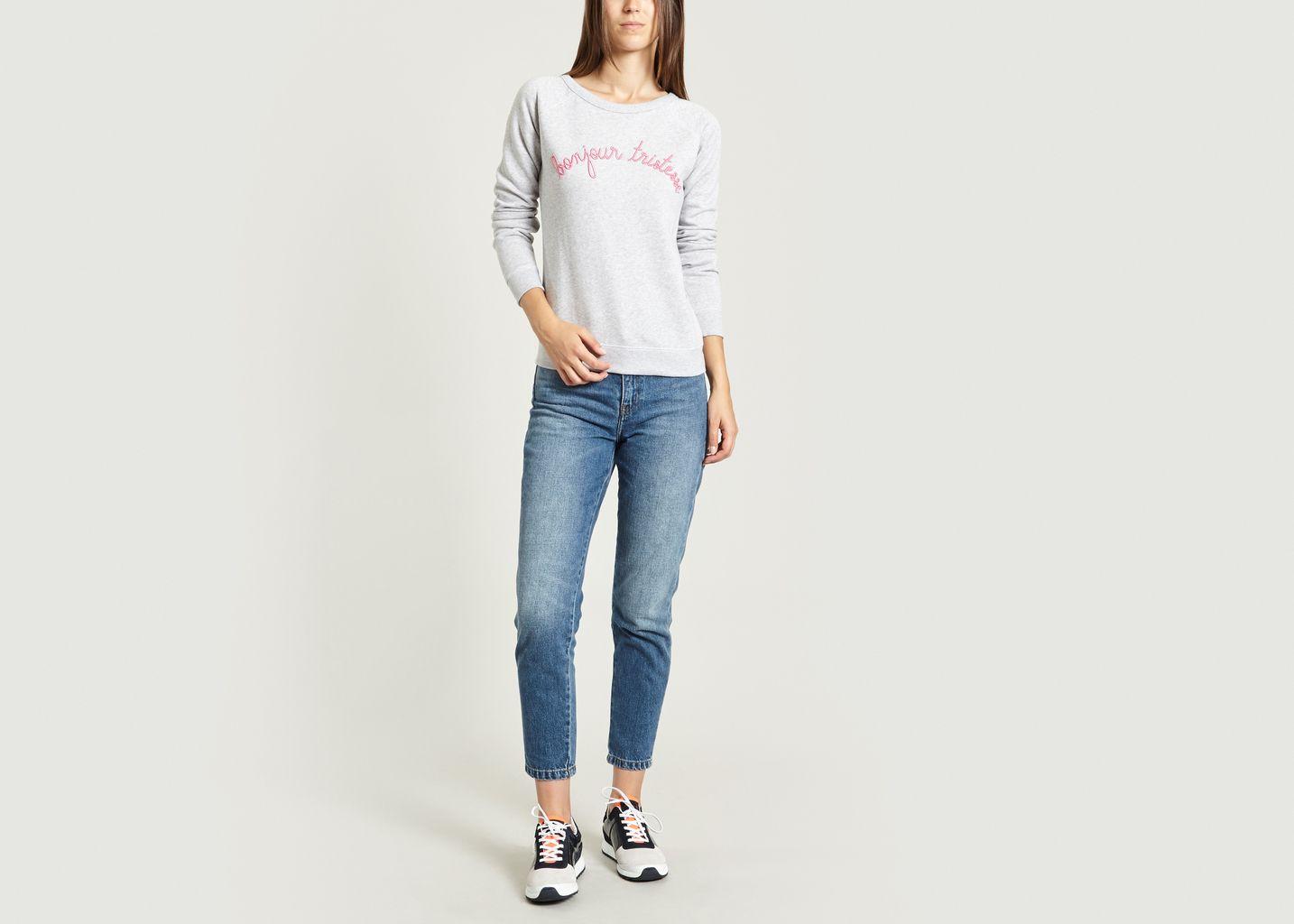 Sweatshirt Bonjour Tristesse - Maison Labiche