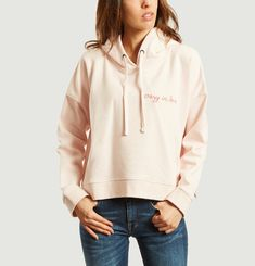 Hoodie Crop Crazy In Love