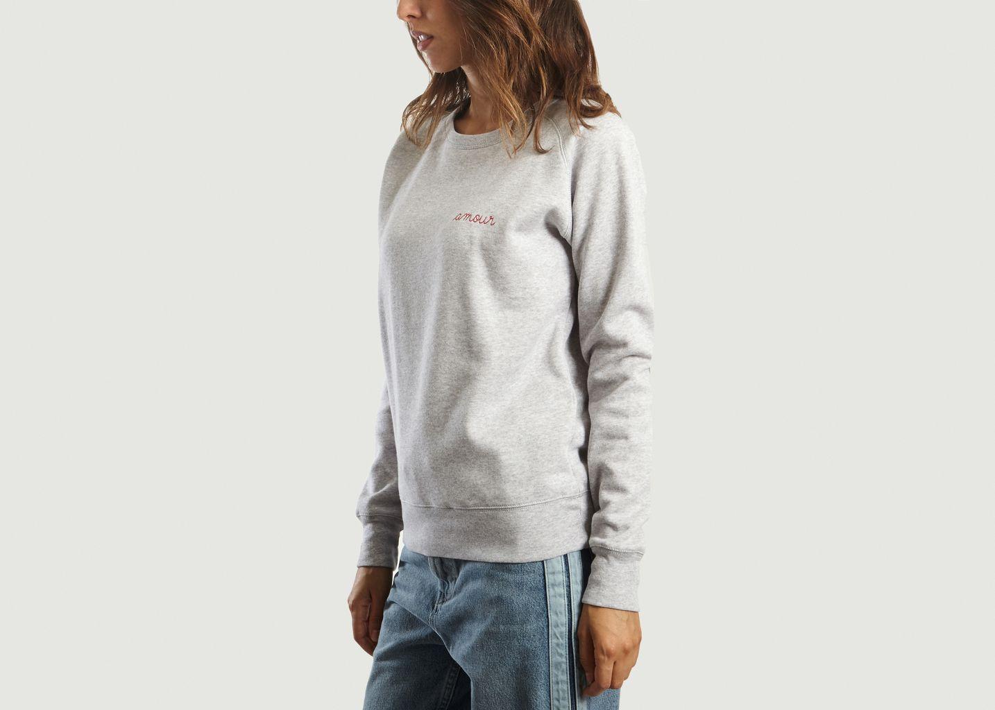 Sweatshirt Amour - Maison Labiche