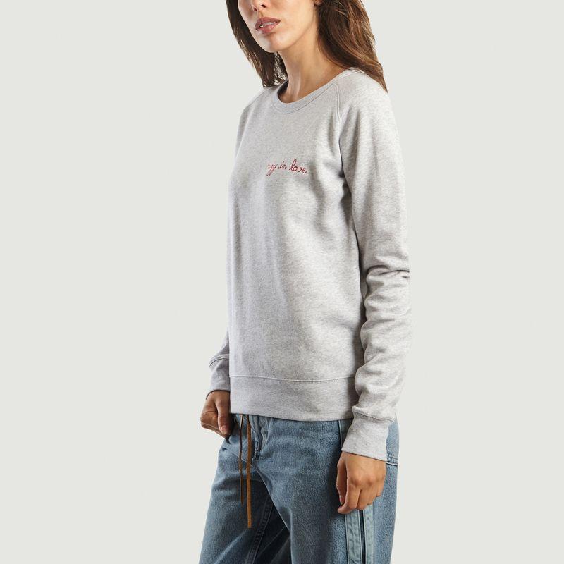 Sweatshirt Crazy in Love - Maison Labiche